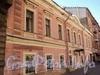 Захарьевская ул., д. 29. Фасад здания. Фото июль 2010 г.
