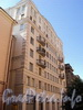 Захарьевская ул., д. 33. Фасад здания. Фото июль 2010 г.