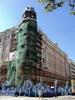 Захарьевская ул., д. 41 / Потемкинская ул., д. 3. Фасад по Захарьевской улице. Фото июль 2010 г.