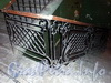 Кирочная ул., д. 18. Решетка перил лестницы парадного подъезда. Фото апрель 2010 г.