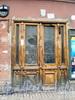 Кирочная ул., д. 30. Входная дверь. Фото март 2010 г.