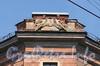 Кирочная ул., д. 30 / Мелитопольский пер., д. 4. Доходный дом Г.С. Войницкого. Скульптурная группа на угловом аттике. Фото май 2010 г.