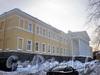 Кирочная ул., д. 35, лит. А. Здание госпиталя лейб-гвардии Преображенского полка. Фасад здания. Фото февраль 2010 г.