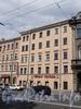 Кирочная ул., д. 36-38 (правая часть). Фасад здания. Фото май 2010 г.