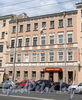 Кирочная ул., д. 36-38 (средняя часть). Фасад здания. Фото май 2010 г.