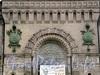 Кирочная ул., д. 43. Здание музея А.В. Суворова. Фрагмент фасада. Фото сентябрь 2010 г.
