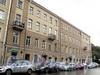 Кирочная ул., д. 48 / Потемкинская ул., д. 13. Фасад по Кирочной улице. Фото июль 2010 г.
