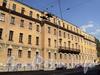 Кирочная ул., д. 54. Главный корпус. Фасад здания. Фото август 2010 г.