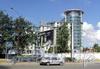 Кирочная ул., д. 64. МФК «Резиденция на Суворовском». Вид от Новгородской улицы. Фото июль 2010 г.
