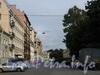 Перспектива Гангутской улицы от набережной Фонтанки в сторону Гагаринской улицы. Фото сентябрь 2010 г.