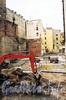 Гангутская ул., д. 8. Строительная площадка жилого комплекса «Монплезир». Фото с сайта компании «Источник-Строй».