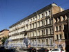 Ул. Радищева, д. 5-7. Фасад лицевого флигеля. Фото июль 2010 г.