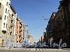 Перспектива Тверской улицы от Таврической улицы в сторону площади Пролетарской диктатуры. Фото август 2010 г.