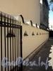 Тверская ул., д. 8. Знаменская церковь старообрядцев Поморского согласия. Ограда. Фото август 2010 г.