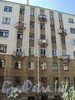 Тверская ул., д. 16. Фрагмент торцевого фасада дворового корпуса. Вид со Ставропольской улицы. Фото август 2010 г.