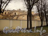 Ул. Смольного, д. 4. Флигель. Вид от Смольной набережной. Фото 23 октября 2010 г.