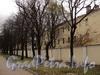 Ул. Смольного, д. 4. Главное здание. Фасад по Смольной набережной. Фото 23 октября 2010 г.