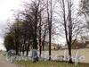 Ул. Смольного, д. 4. Общий вид участка. Вид от Смольной набережной. Фото 23 октября 2010 г.
