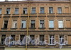 Верейская ул., д. 35 / Малодетскосельский пр., д. 10. Фрагмент фасада по Верейской улице. Фото август 2010 г.
