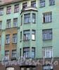 Рузовская ул., д. 19. Доходный дом Б.И. Гиршовича. Эркер. Фото май 2010 г.