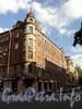 Бол. Зеленина ул., д. 31 / Барочная ул., д. 1. Фасад по Большой Зелениной улице. Фото сентябрь 2010 г.