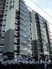 Барочная ул., д. 12. Жилой комплекс бизнес-класса «Ориенталь». Фасад по Барочной улице. Фото сентябрь 2010 г.