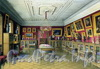 Ул. Чайковского, дом 11. Особняк  П.С. Строганова. Библиотека. Жюль Мейблюм, акварель, 1860-ые годы. Фото изжурнала retro_piter