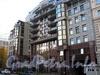 Мичуринская ул., д. 4. Элитный жилой комплекс «Дворянское гнездо» («Евросиб»). Фасад здания. Фото октябрь 2010 г.