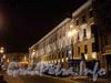 Бол. Морская ул., д. 14. Ночная подсветка фасада. Фото январь 2011 г.