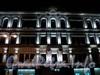 Большая Морская улица, дом 30. Ночное оформление фасада. Фото январь 2011 г.