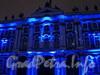 Миллионная улица, дом 39. Свето-музыкальное шоу на фасаде Зимнего Дворца. Фото январь 2011 г.
