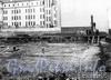 Пеньковая ул., д. 8. Строительство комплекса зданий Фильтроозонной станции. Фото 1912 г. (из архива ЦГАКФФД)