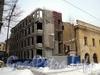 Тифлисская ул., д. 1. Расширение здания книгохранилища библиотеки РАН. Фото январь 2011 г.