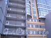 Улица Матросажелезняка, дом 57. Фрагмент фасада здания. Фото январь 2011 года.