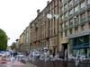 Перспектива нечетной стороны Смоленской улицы от Московского проспекта в сторону Заозерной улицы. Фото июнь 2004 г.