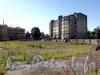Территория участка 18-20 по Смоленской улице. Вид от Заозерной улицы. Фото июль 2010 г.