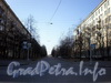 Перспектива улицы Ленсовета от улицы Фрунзе в сторону улицы Гастелло. Фото апрель 2009 г.