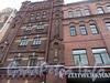 Ул. Достоевского, 40-44. (левая часть). Фрагмент фасада здания. Фото январь 2011 г.