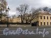 Ул. Смольного, д. 4. Угловая часть главного здания. Вид от улицы Смольного. Фото 23 октября 2010 г.