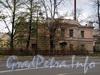 Ул. Смольного, д. 4. Флигель по улице Смольного (ранее д/с № 121 Центрального района). Общий вид. Фото 23 октября 2010 г.