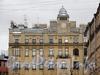 Конная ул., д. 8. Фрагмент фасада. Вид с Невского проспекта. Фото март 2011 г.