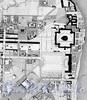 Район Смольного монастыря на «Подробном плане столичного города С.-Петербурга» генерал-майора Шуберта. Масштаб 1/4200. 1828 год.
