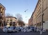 Перспектива Очаковской улицы от Кавалергардской улицы в сторону Одесской улицы. Фото апрель 2011 г.
