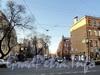 Перспектива улицы Писарева от улицы Декабристов в сторону набережной Мойки. Фото апрель 2011 г.