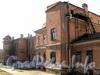 Ул. Писарева, д. 12. Боковой садовый фасад. Фото апрель 2011 г.