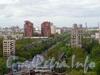Перспектива улицы Ленсовета от Звёздной улицы в сторону проспекта Юрия Гагарина. Фото июнь 2011 г.