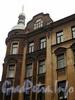 Ул. Блохина, д. 3. Фрагмент фасада. Фото июнь 2010 г.