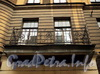 Ул. Блохина, д. 3. Ограждение балкона. Фото июнь 2010 г.