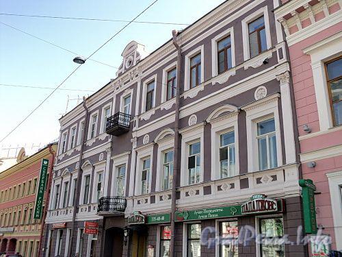 Фурштатская ул., д. 3. Фасад здания. Фото май 2010 г.