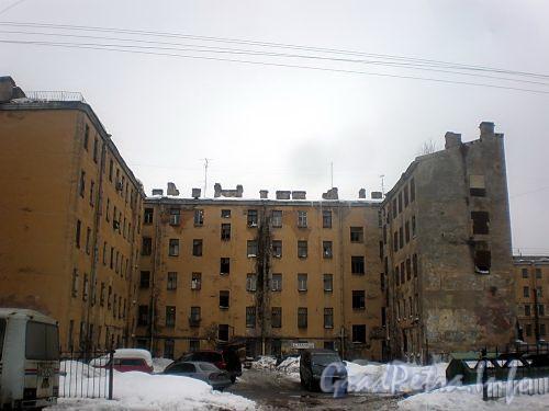 11-я Красноармейская ул., д. 7. Вид с 10-й Красноармейской улицы. Фото февраль 2010 г.